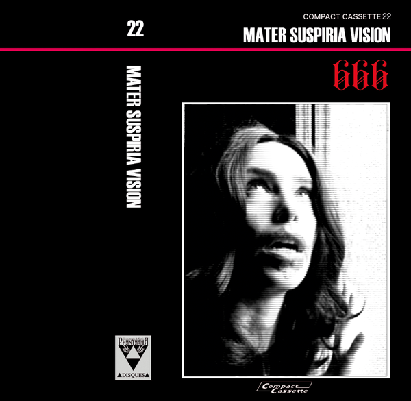 Image of MATER SUSPIRIA VISION - 666 Cassette (Limited 15) + Digital (Design B)