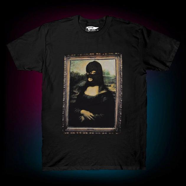 Image of Masked Mona (Black)
