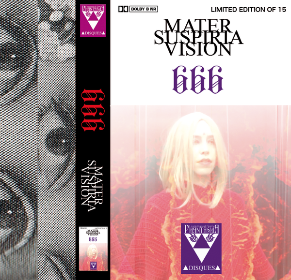 Image of MATER SUSPIRIA VISION - 666 Cassette (Limited 15) + Digital (Design A)