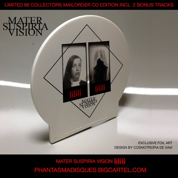Image of MATER SUSPIRIA VISION - 666 CD (SPECIAL EDITION) + DIGITAL + 2 EXCLUSIVE BONUS TRACKS
