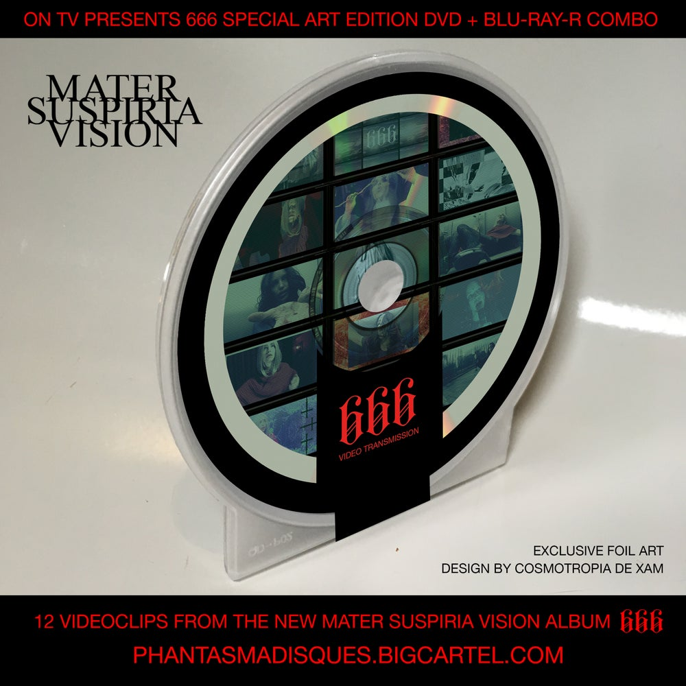 Image of MATER SUSPIRIA VISION - ON TV 666 - DVD + BLU-RAY-R (SPECIAL EDITION)