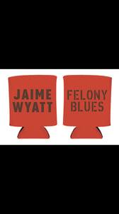 Image of Felony Blues koozie