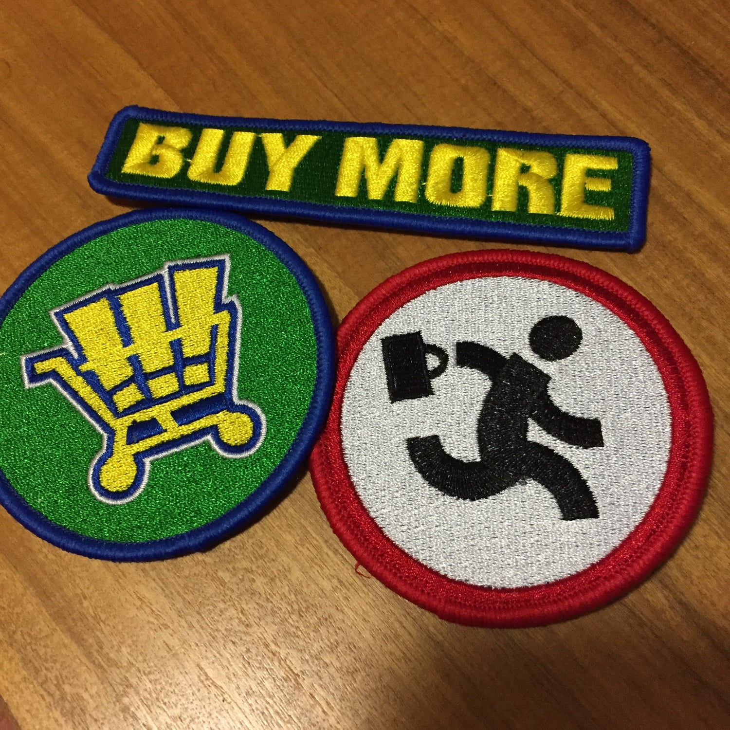 Image of Chuck Buy More Patch Set
