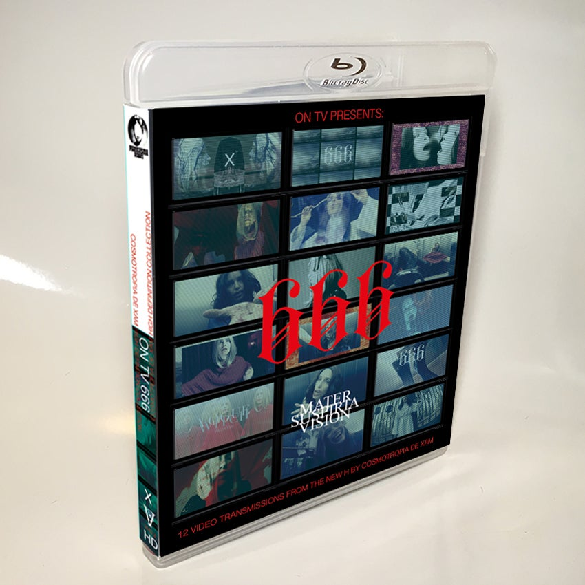 Image of Mater Suspiria Vision - ON TV 666 BLU-RAY-R (Handstamped / First 33 Signed by Cosmotropia de Xam)