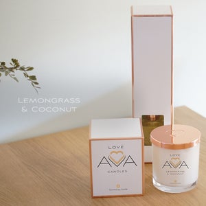 Image of Lemongrass & Coconut Soy Candle