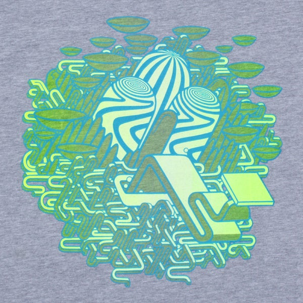 Image of Acid Eater - UV Grey / Shirt
