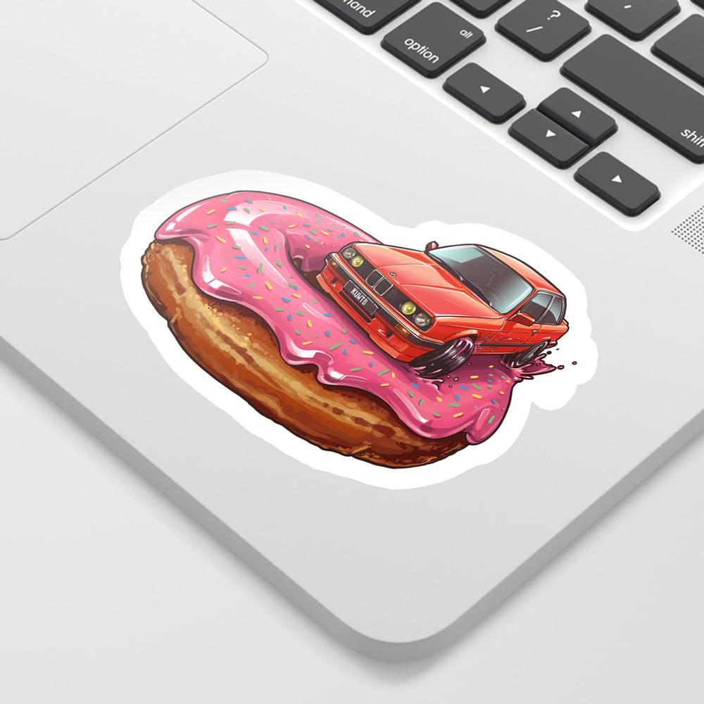 Image of Bavarian Kreme Pink Donut