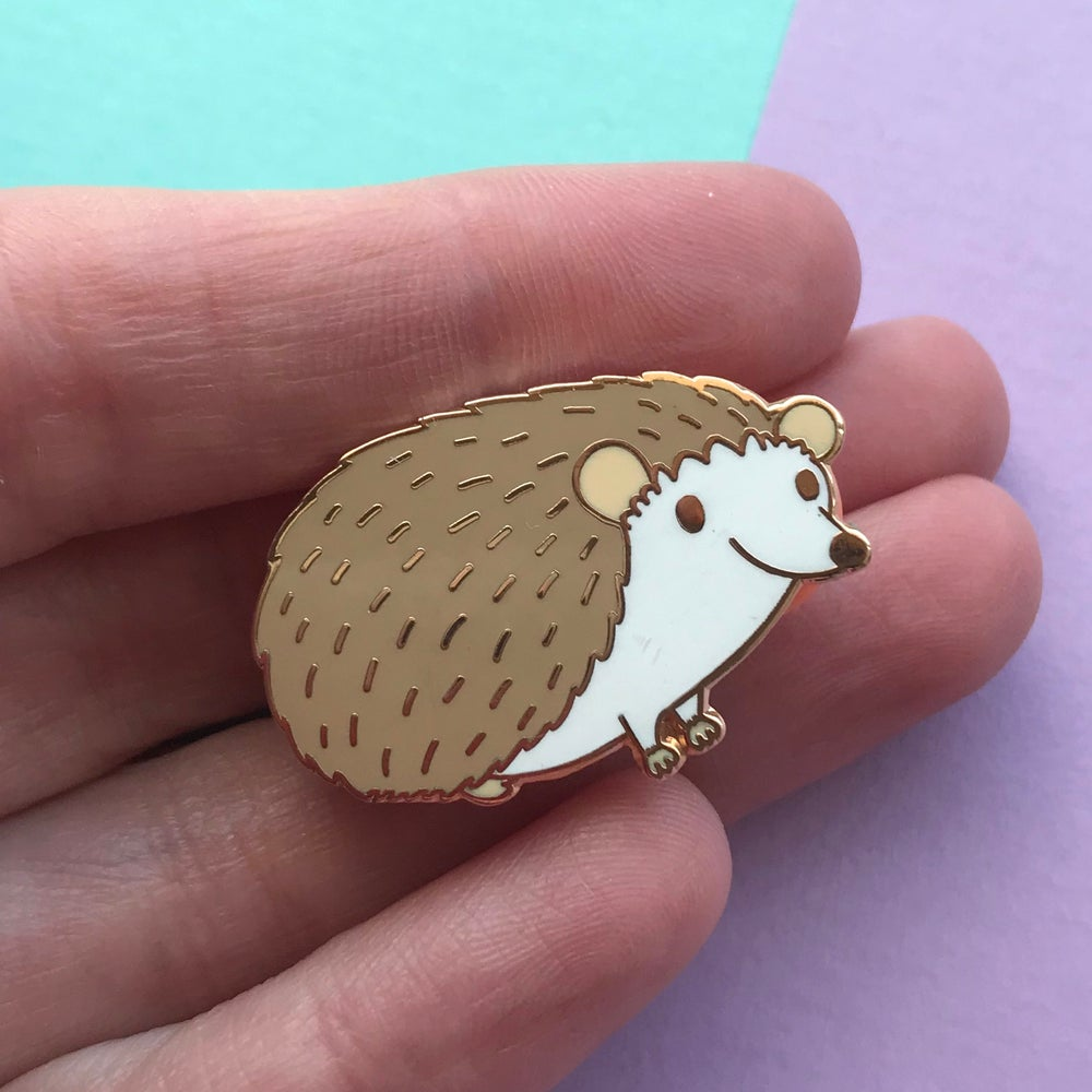 Image of Hedgehog Enamel Pin