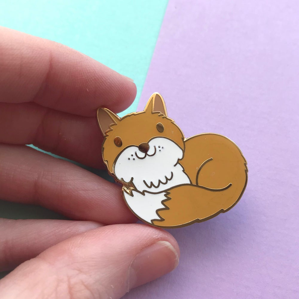 Image of Fox Enamel Pin