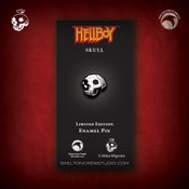 Image of Hellboy/B.P.R.D.: Limited Edition Skull enamel pin!