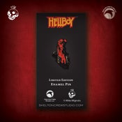 Image of Hellboy/B.P.R.D.: Limited Edition Hellboy enamel pin! HAPPY HELLBOY DAY!