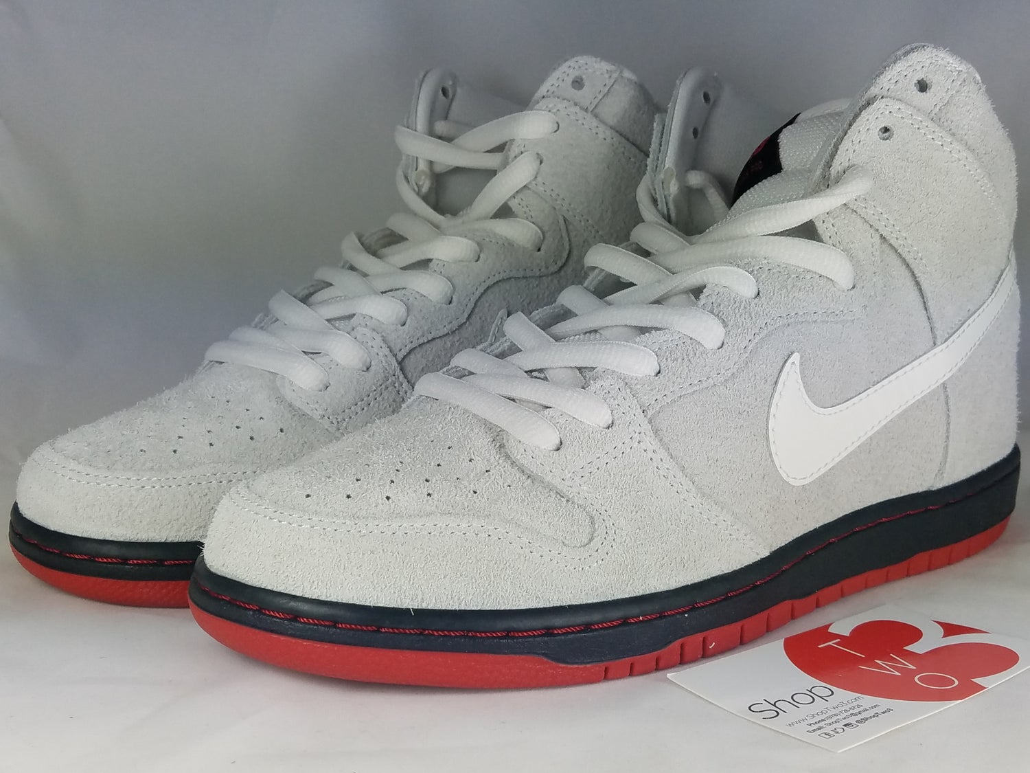 "Image of Nike SB Dunk High ""Wolf in Sheep Clothing"""