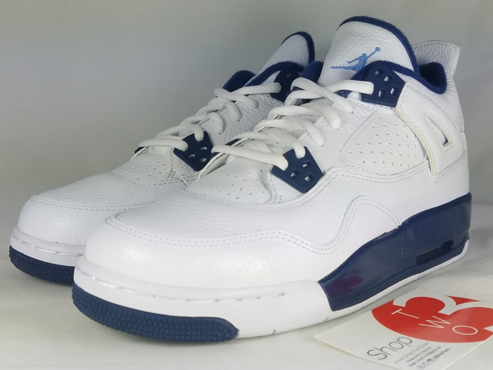 "Image of Air Jordan 4 Retro BG ""Legend Blue"""