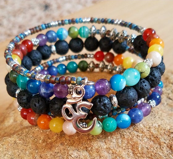 Image of Chakra Wrap Bracelet