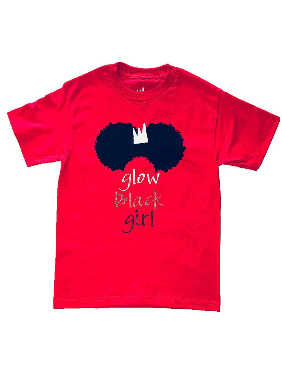 Image of Glow Black Girl - Adult Tee