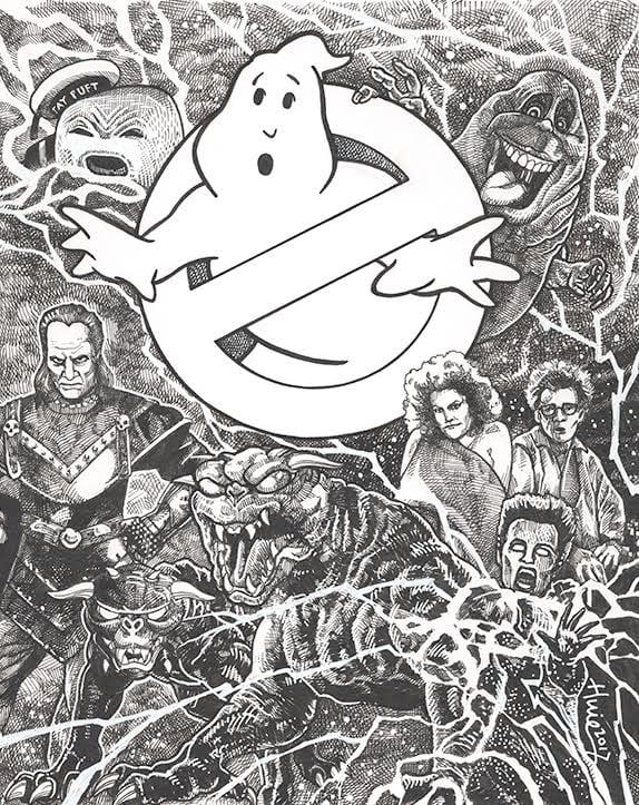 Image of Steven Huie - Ghostbusters print