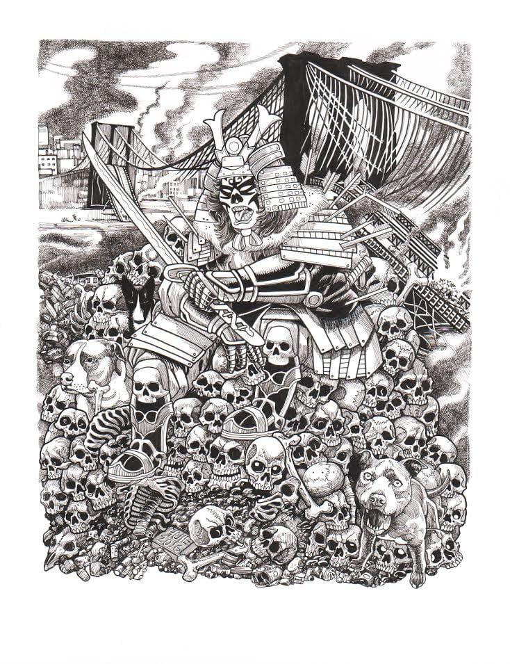 Image of Steven Huie - Merauder print