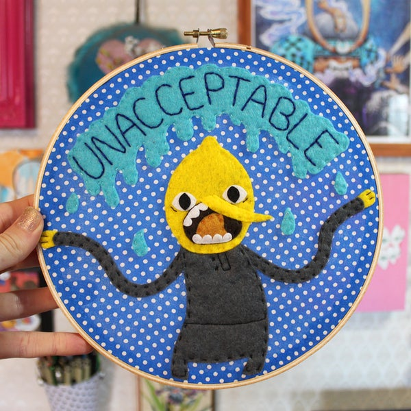 Image of Lemongrab Hoop