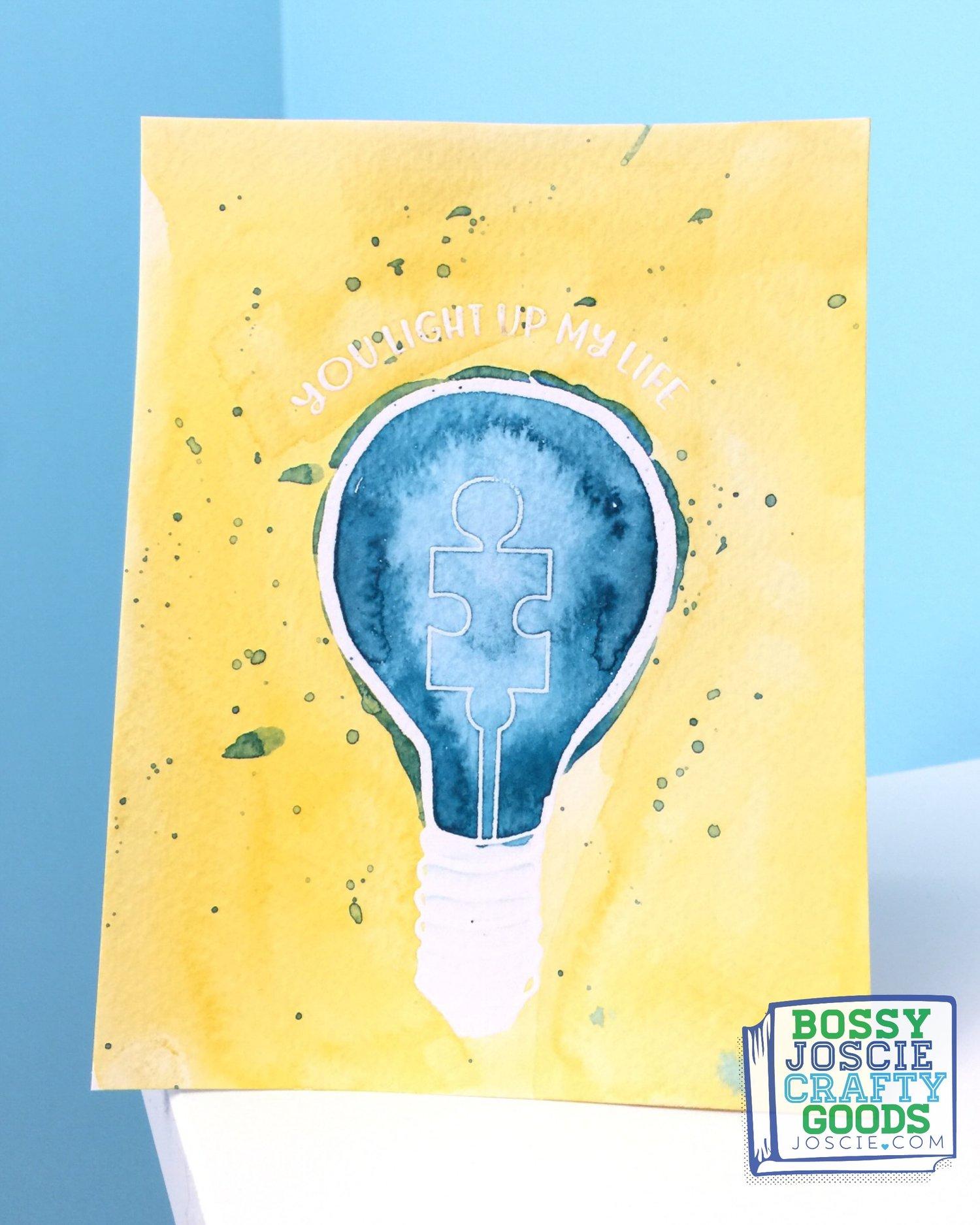 Image of Autism Light Bulb Set