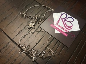 Image of Wired Art Necklace