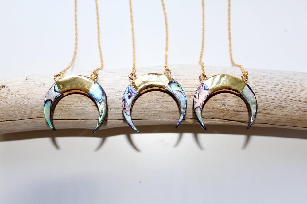 Image of Luna Necklace- Abalone