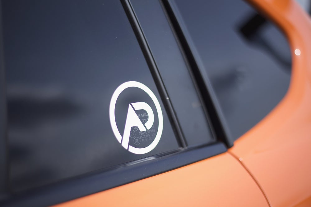 """Image of AD Logo 3"""" Decal"""
