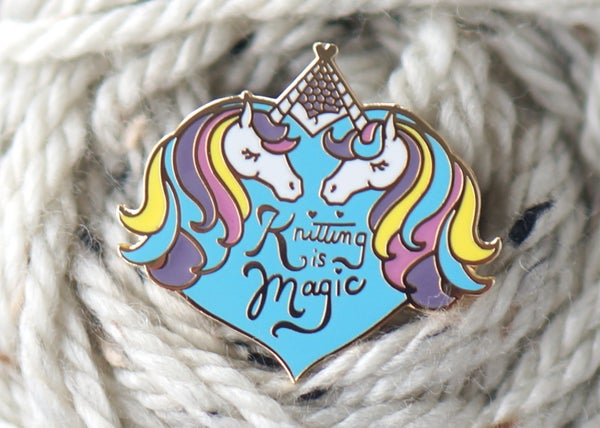 Image of Knitting is Magic