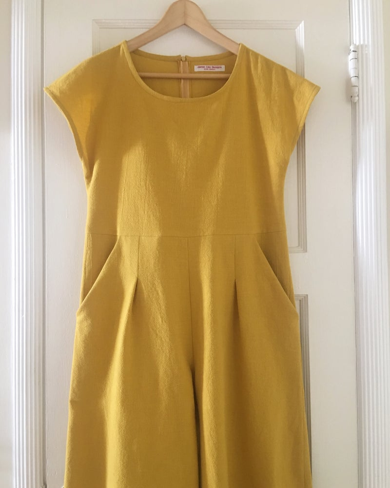 Image of Goldenrod Motion Jumpsuit