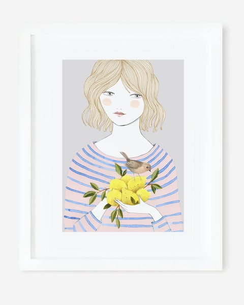 Image of Lámina Si la vida te da limones