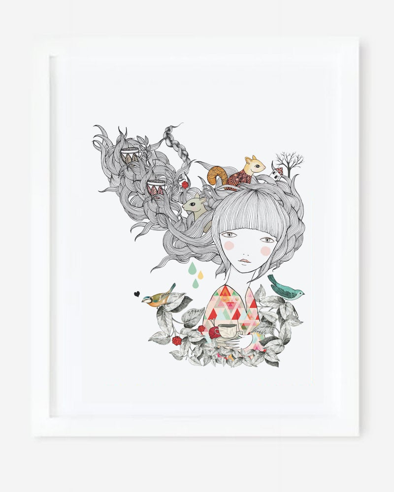 Image of Print Ardilla