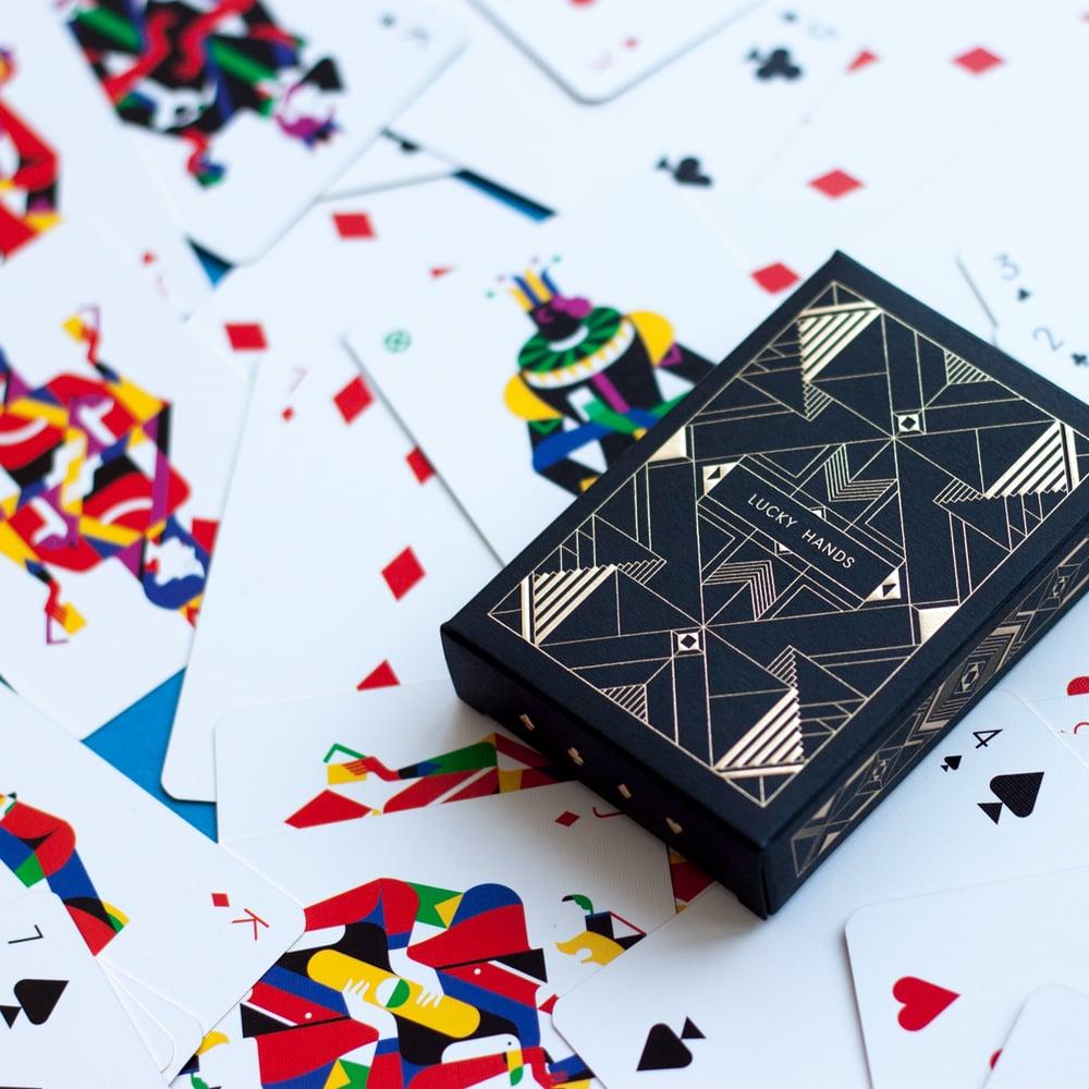 Lucky Hands card deck