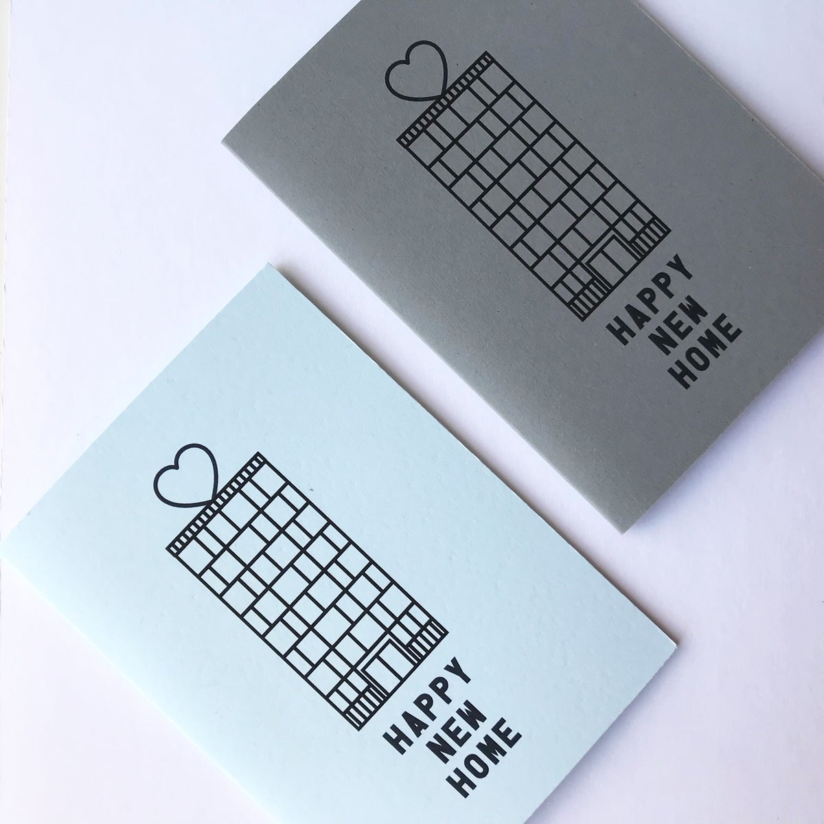 Image of APARTMENT / FLAT HAPPY NEW HOME CARD by fings MCR