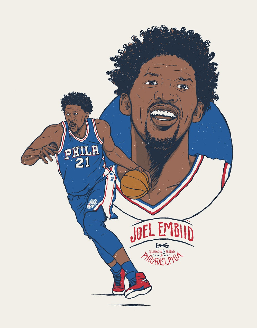 Image of Embiid print