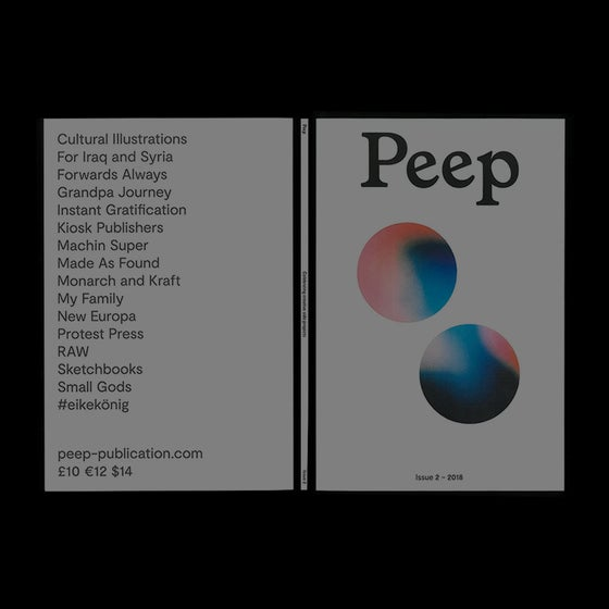 Image of Peep Issue 2 – Jay Russell Cover