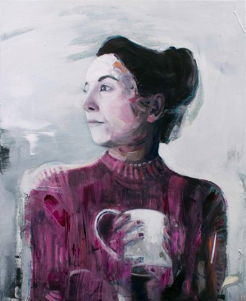 Image of Painting / maleri / 60x73 cm