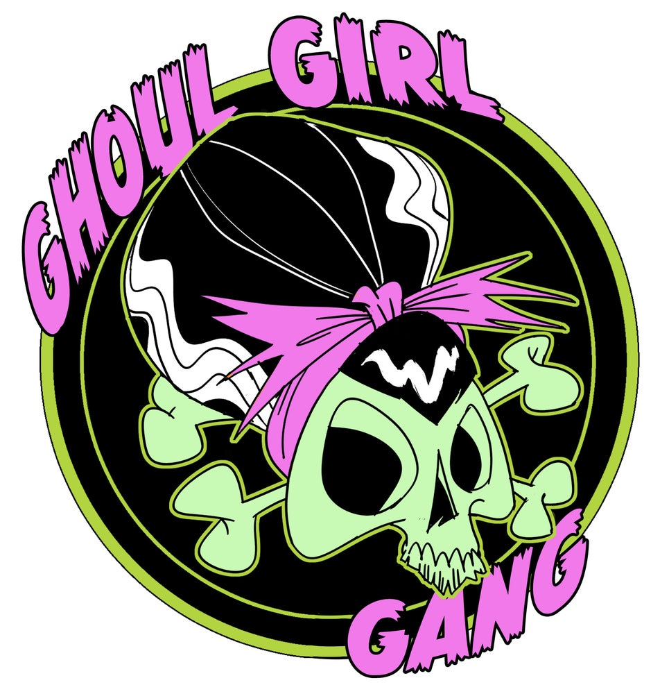 Image of Ghoul Girl Gang Enamel Pin