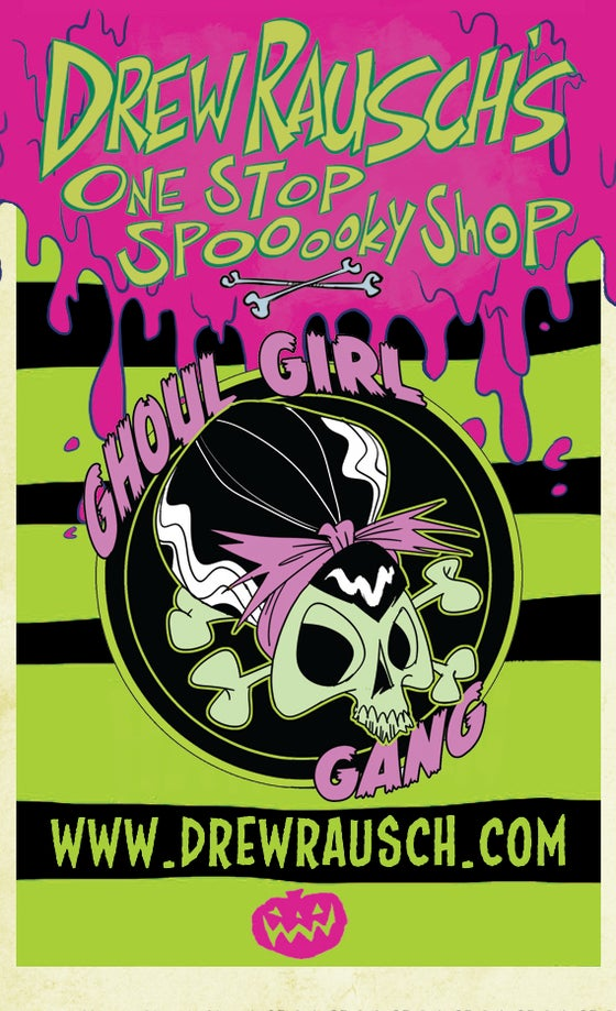 Image of Ghoul Girl Gang Enamel Pin