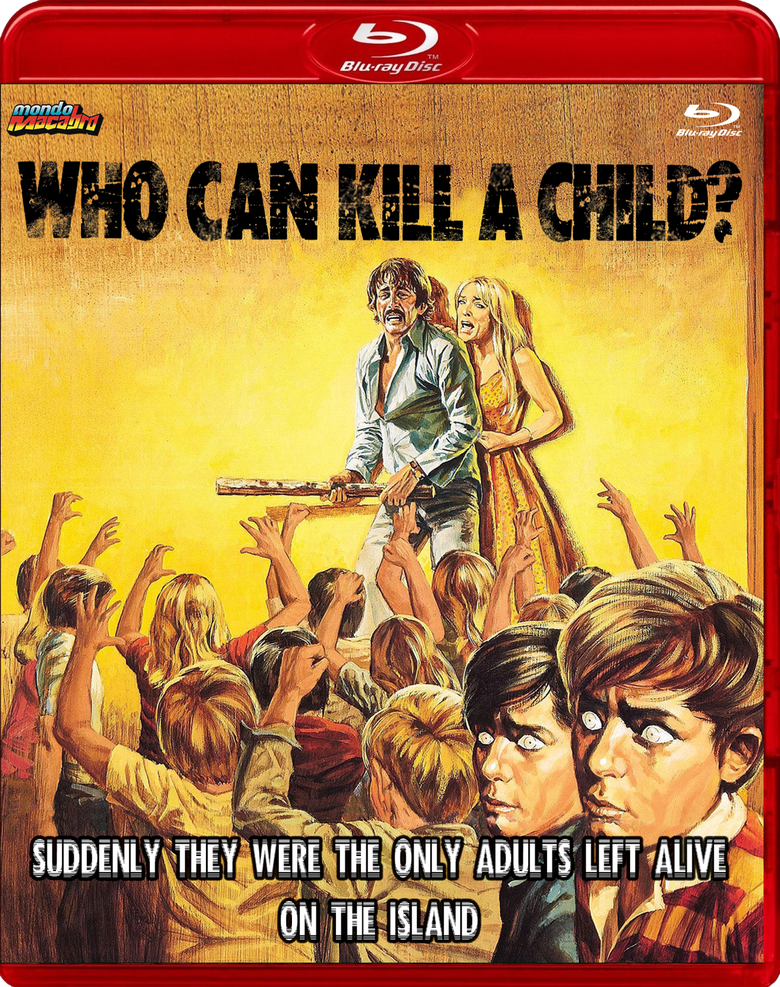 Image of WHO CAN KILL A CHILD? - Red Case Limited Edition Blu-ray