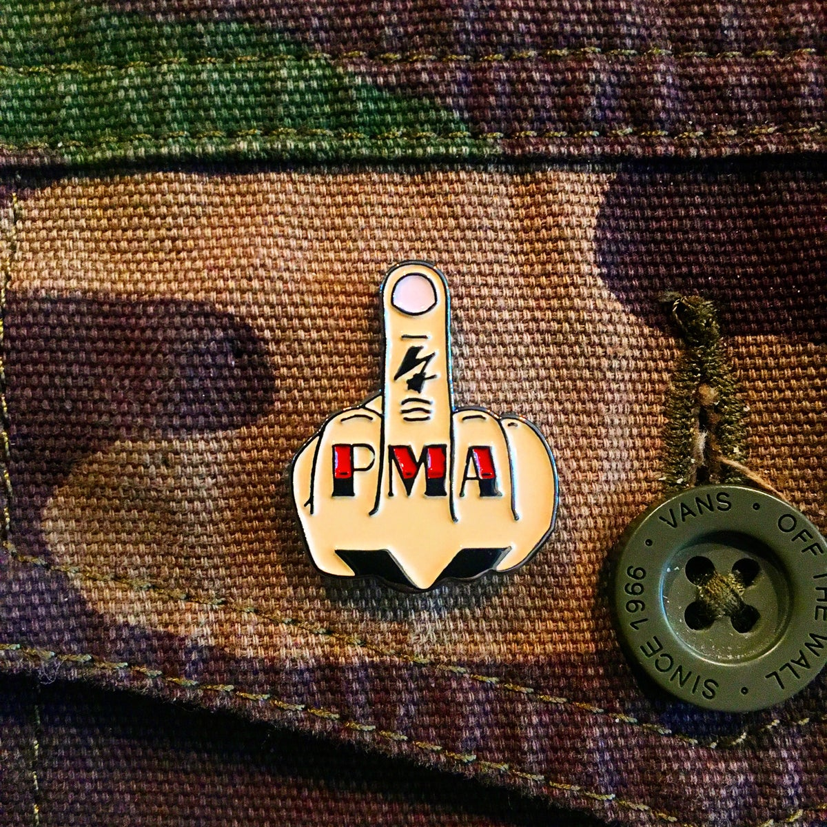 Image of Up Yours! PMA Enamel Pin