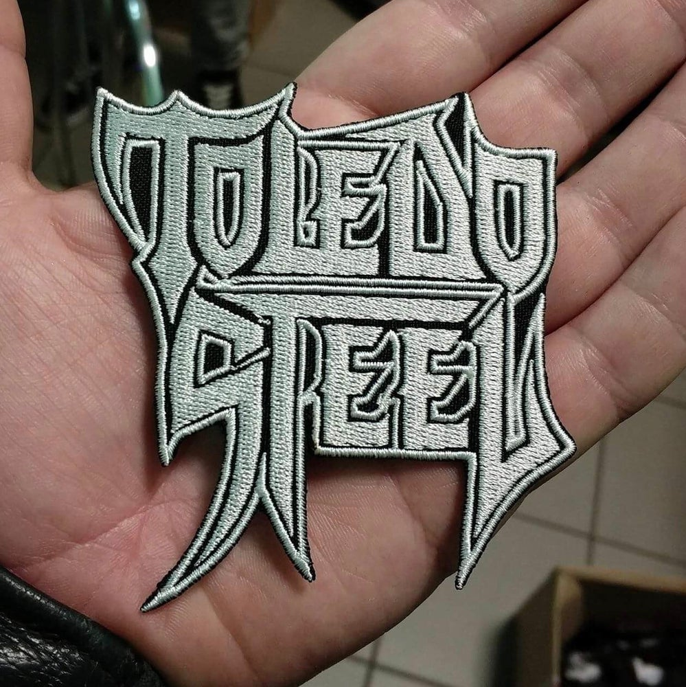 Image of Toledo Steel logo shaped woven patch
