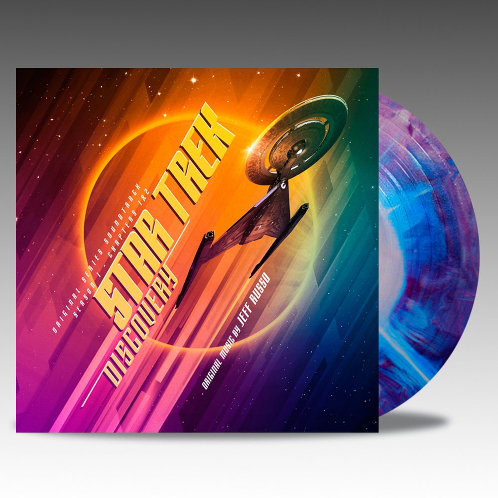 Image of Star Trek Discovery (Original Series Soundtrack) - 'Intergalactic Starburst' Vinyl - Jeff Russo