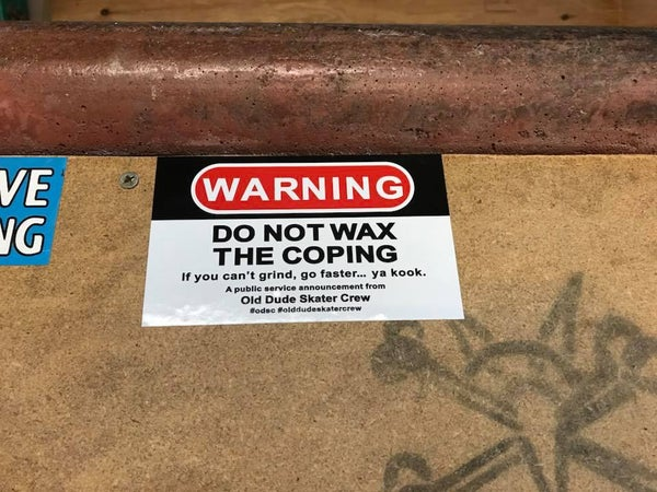 Image of Warning Stickers 4 Pack