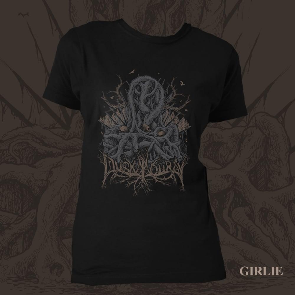 Image of Blackened Throne - Girlie T-Shirt