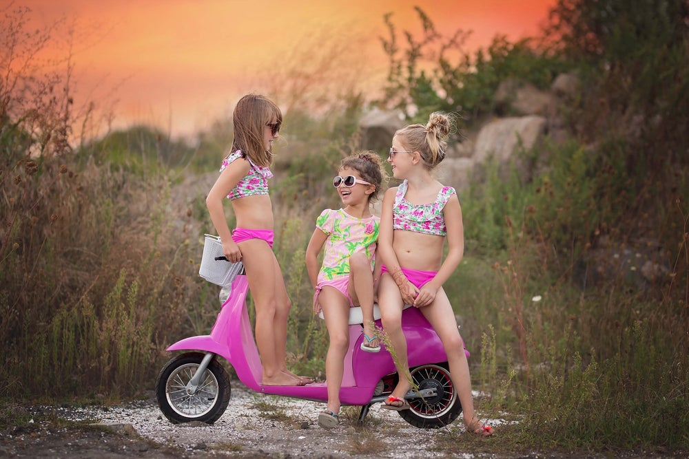 Image of Pink Scooter Mini Sessions