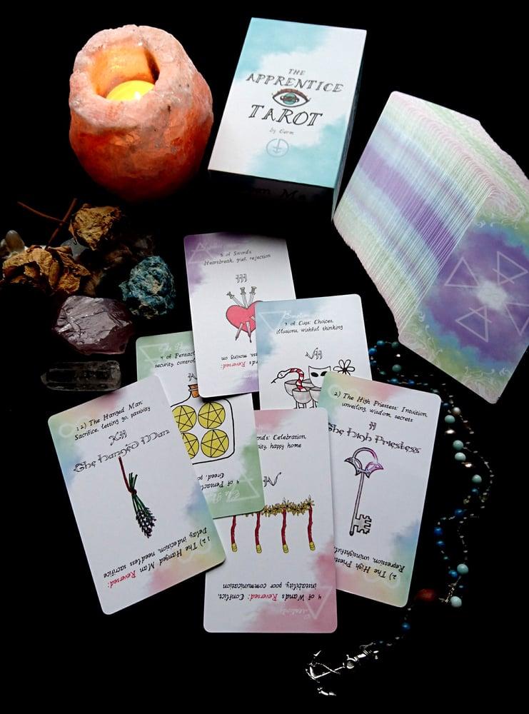 The Apprentice Tarot deck
