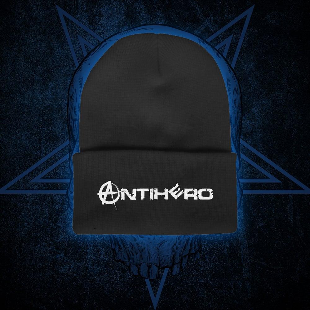 Image of ANTIHERO - Logo Cuffed Beanie