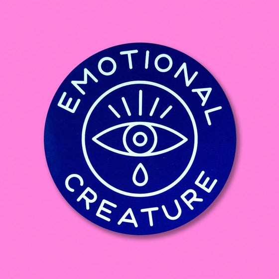 "Image of ""EMOTIONAL CREATURE"" STICKER 3-PACK"