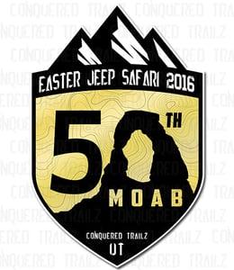 Image of Easter Jeep Safari 2016 - Event Badge