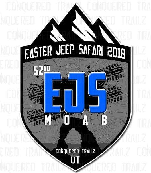 Image of Easter Jeep Safari 2018 - Event Badge