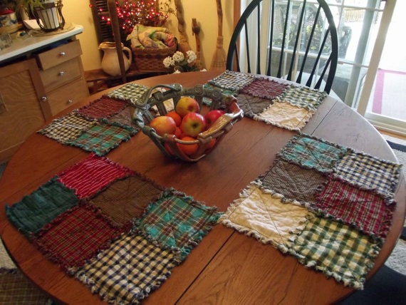 Image of Primitive Patchwork Placemat Sets